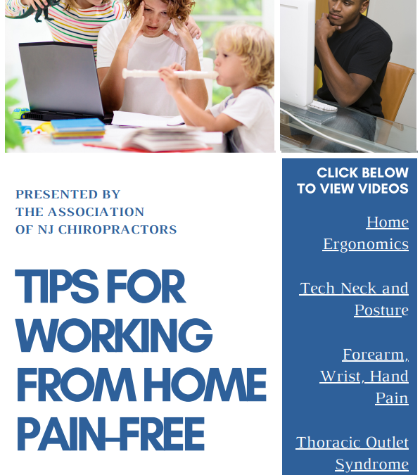 Resources for Working Healthier from Home