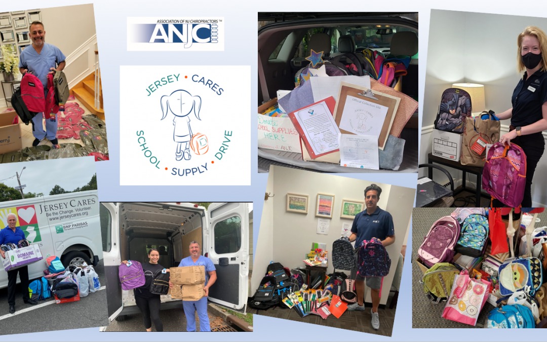 ANJC Member Doctors Collect Nearly 800 Backpacks, Loads of School Supplies for NJ Children